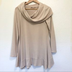 Soft Surroundings Cowl Neck Tunic